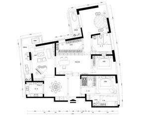 平面规划图