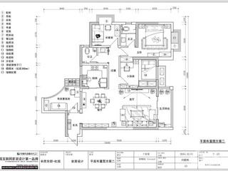 长房东郡三期华城四室两厅北欧风格设计