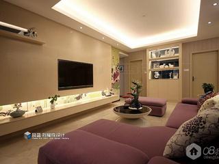 《衔泥巢君屋》长沙江山帝景120平米婚房设计