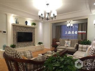 《清风徐来》长沙鑫远和城140平米简约美式设计