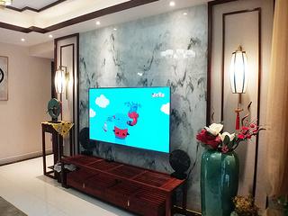 珠江郦城中式风格精装房设计