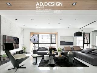 【现代简约风】亚町设计丨柔光与灰调的碰撞